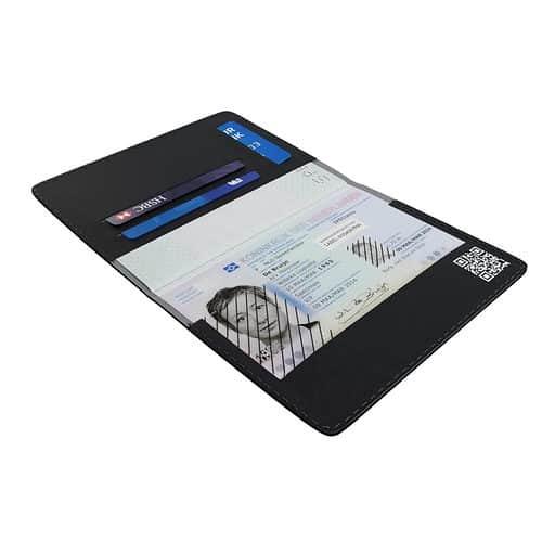 Veilige kopie paspoort hoesje