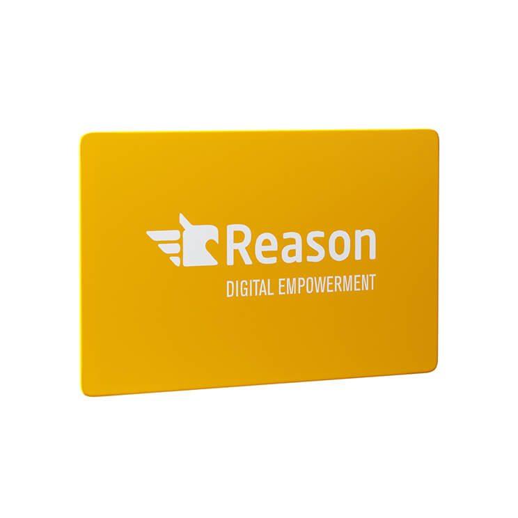 RFID blocking kaart bedrukt voorbeeld