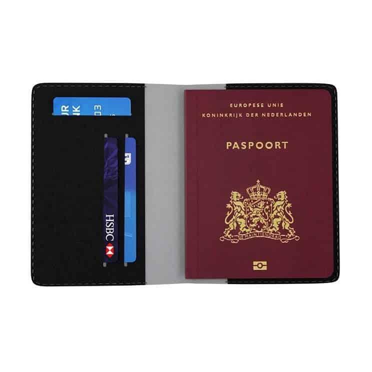 paspoort privacy hoes bedrukken met logo